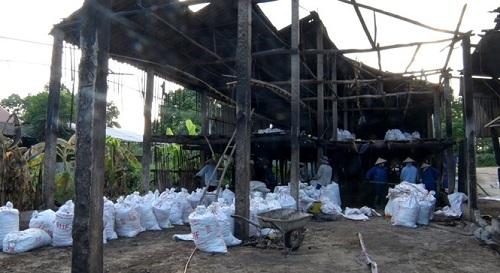Thái Nguyên cháy trang trại gà thiệt hại gần 600 triệu đồng